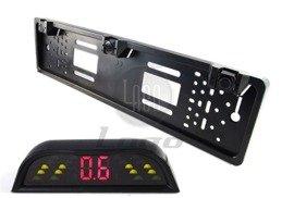 Czujniki cofania parkowania w ramce tablicy sensor