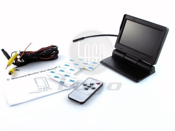 Automatycznie składany ekran monitor LCD 5 cali