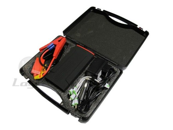 Starter akumulatorowy z funkcją power banku, mocny 12 000 mAh JS207