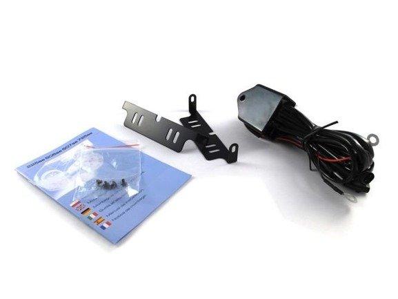 Mocne SKOŚNE światła jazdy dziennej M-TECH LED 10W
