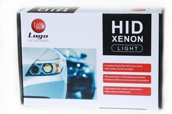 Zestaw HID xenon H7 6000K DC SLIM