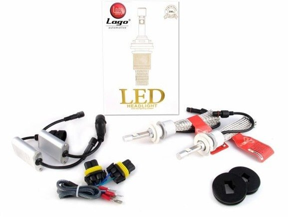 Zestaw żarówek LED H7 CREE 12-24V 90W 9600LM L110